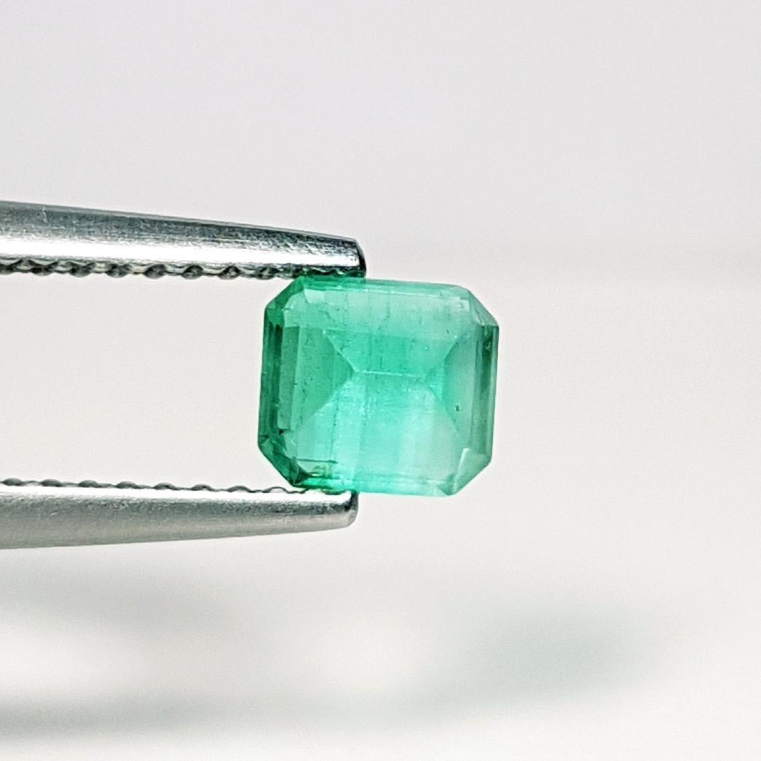 Top Qaulity Emerald Cut NaturalEmerald - 0.63 ct - 4