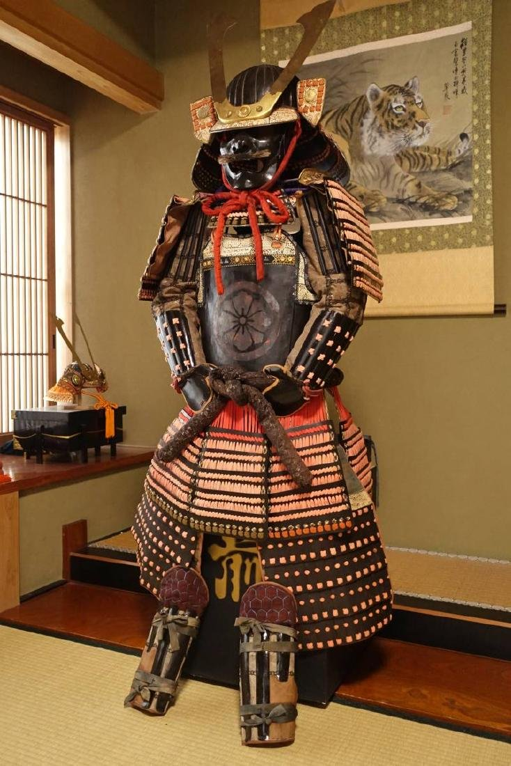 Japanese Samurai Armor crest Naito