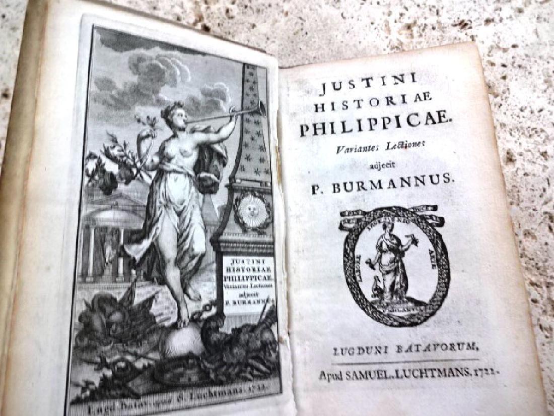 1722 Vellum Justini Historiae Philippicae
