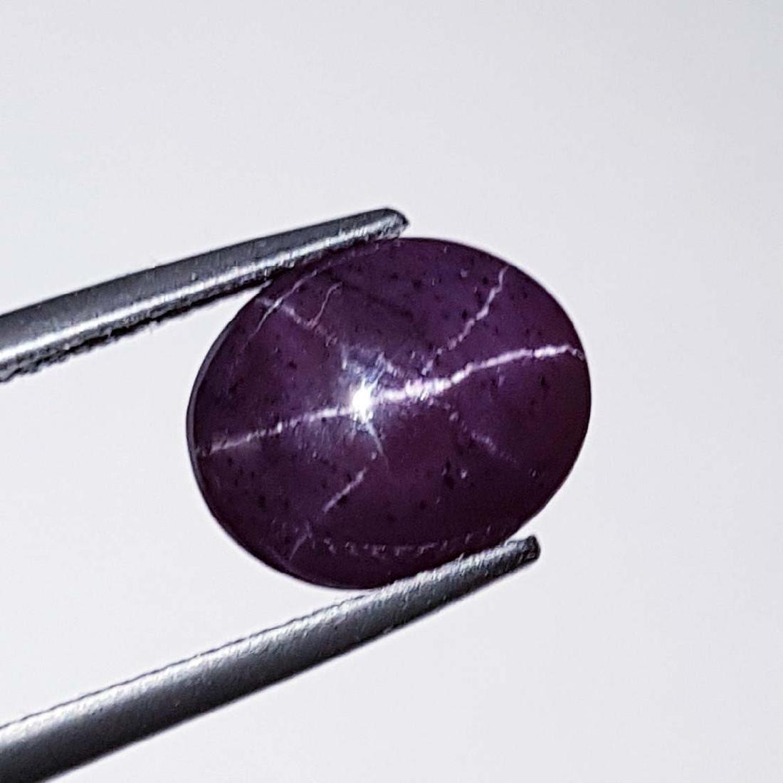 Top Quality Six Ray Natural Star Garnet - 6.69 ct