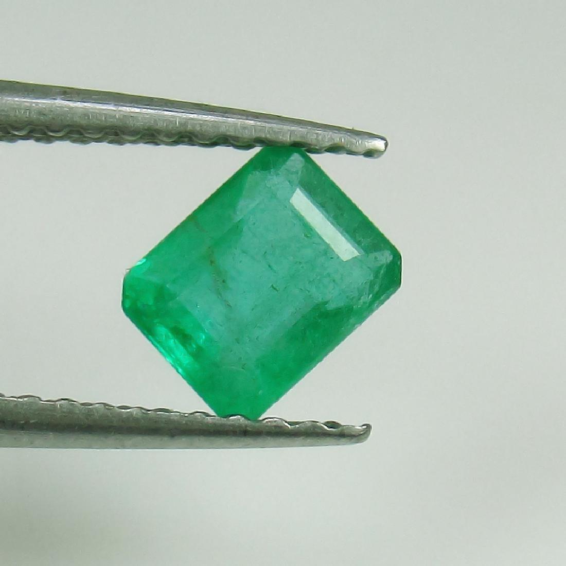 0.67 Ct Genuine Loose Zambian Emerald 5.5X4.5 mm
