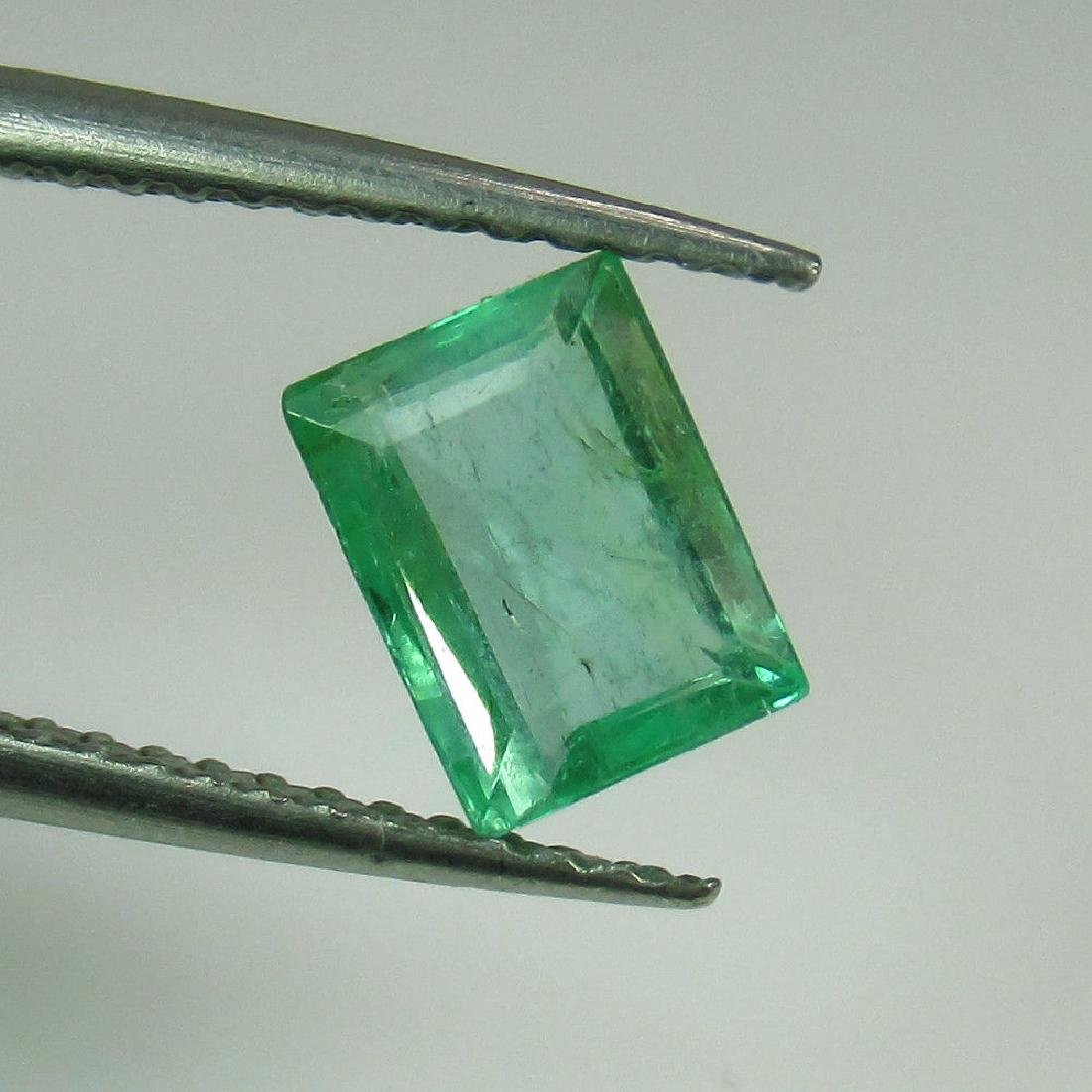 1.00 Ct Genuine Loose Zambian Emerald Excellent