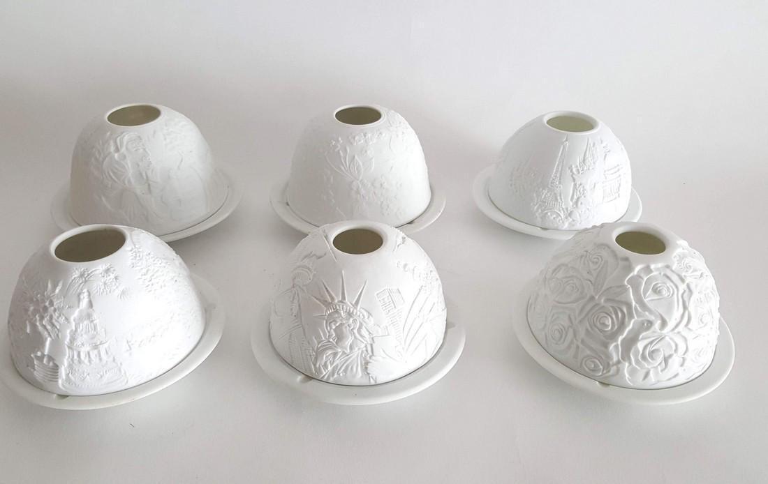 Bernardaud Limoges Porcelain Votivelight Candles