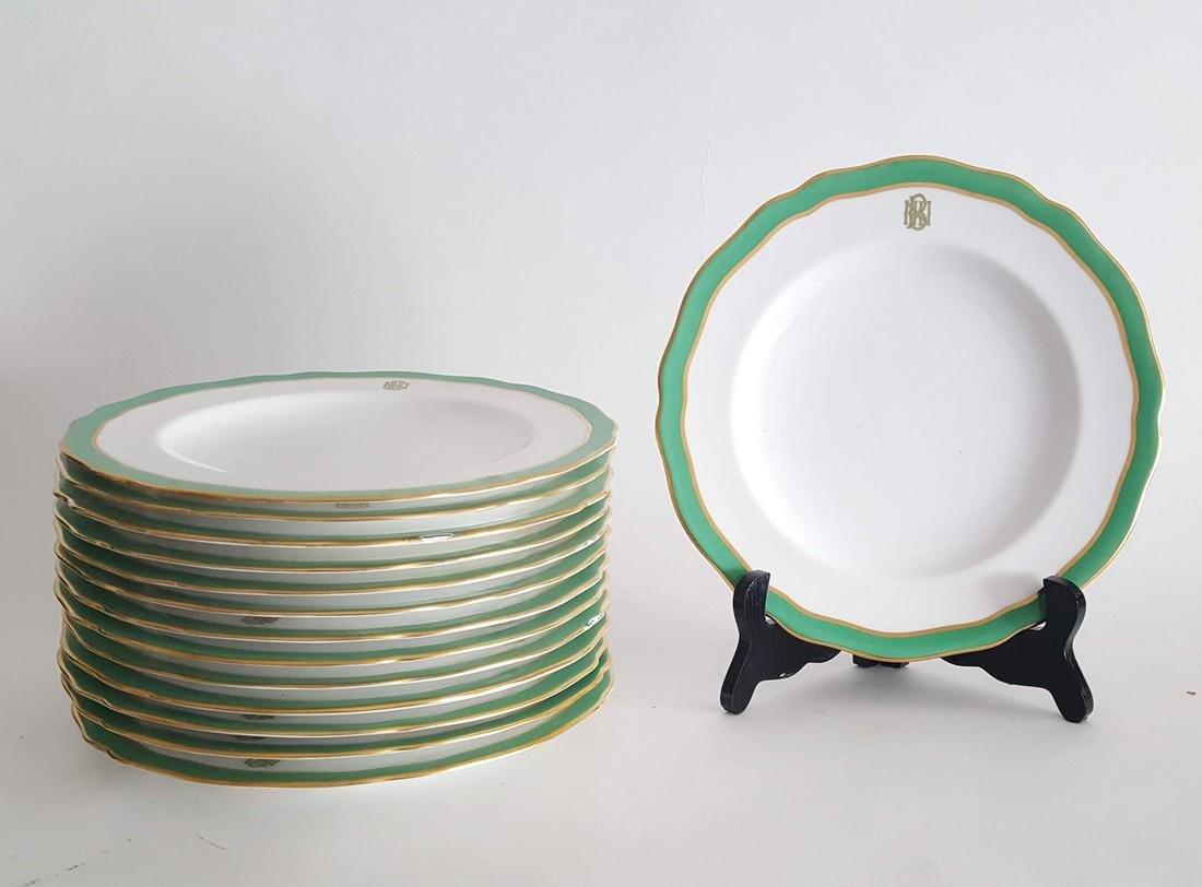 Spode Copeland Porcelain Plates, 19th c.
