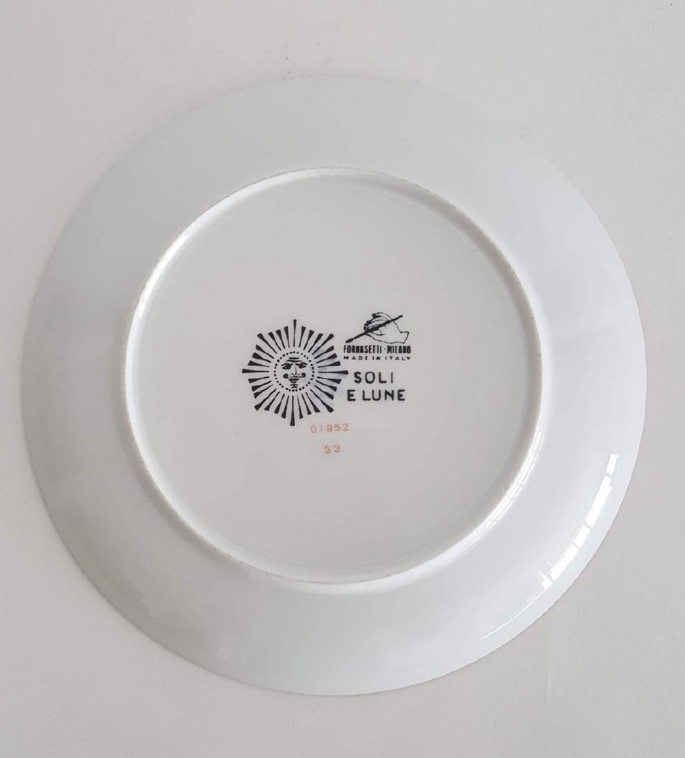 Fornasetti Soli E Lune Wall Porcelain Plate - 2