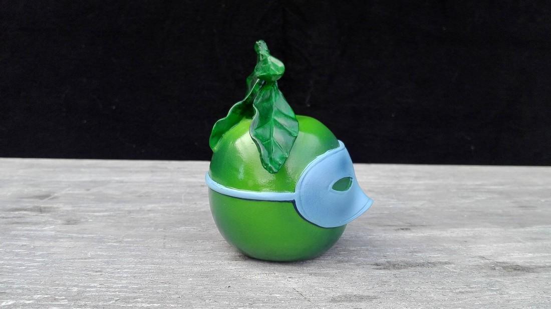 René Magritte - Blindfolded apple - Official - 4
