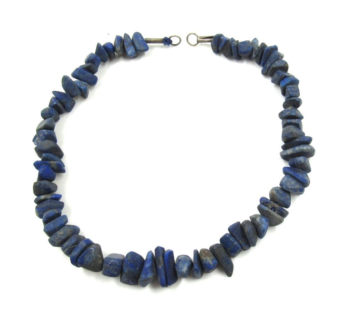 Ancient Roman Lapis Lazuli Beaded Necklace