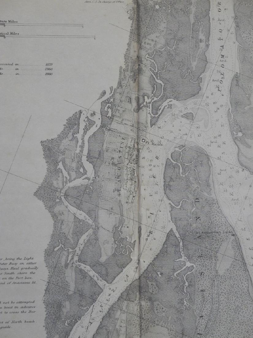 Preliminary Chart of St. Augustine Harbor Florida - 2