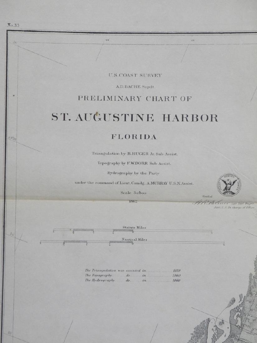 Preliminary Chart of St. Augustine Harbor Florida - 3