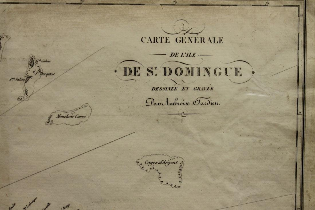Map of St. Domingue - 2