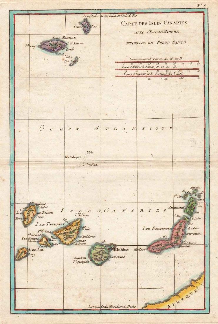 Bonne: Madeira and Canary Islands