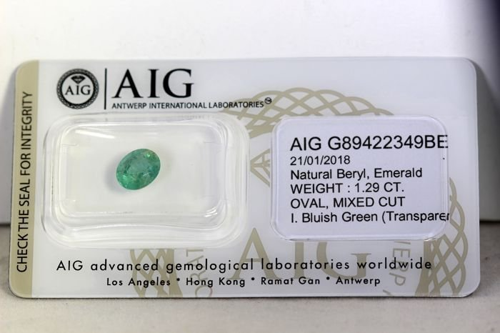 * NO RESERVE PRICE *  AIG Antwerp Sealed - Emerald -