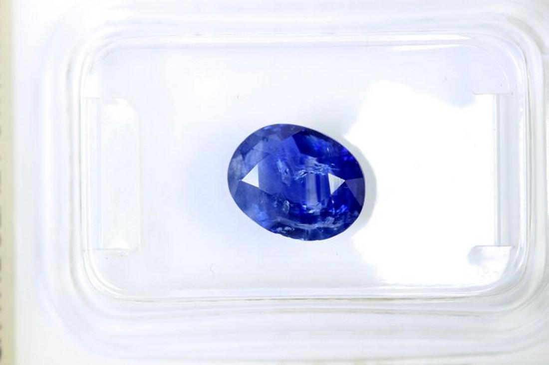 * NO RESERVE PRICE * - Sapphire - 1.74 ct - Blue - AIG - 2