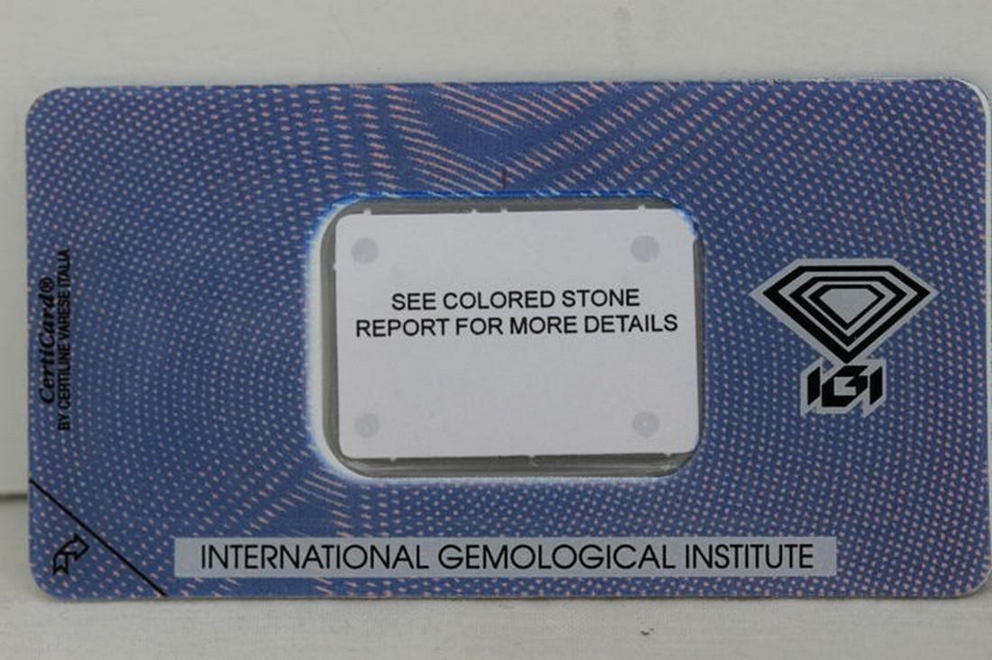 IGI Antwerp Certificate - Chrysoberyl - 1.16 ct - 5