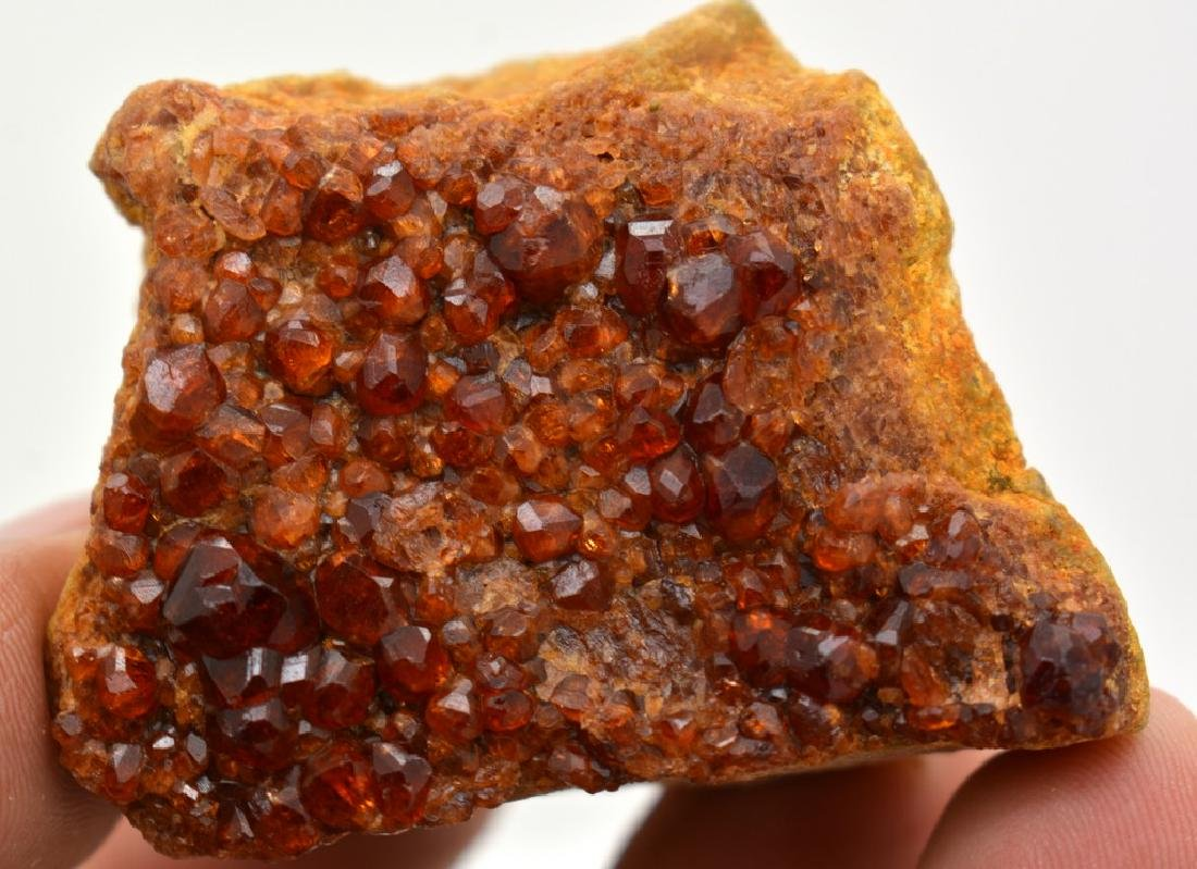 Fine Red Garnet Specimen