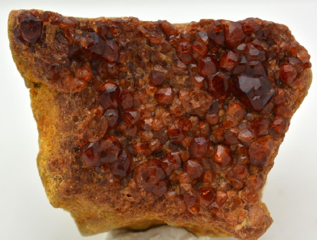 Fine Red Garnet Specimen - 5
