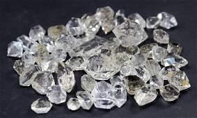Double terminated and damage free diamond quartz