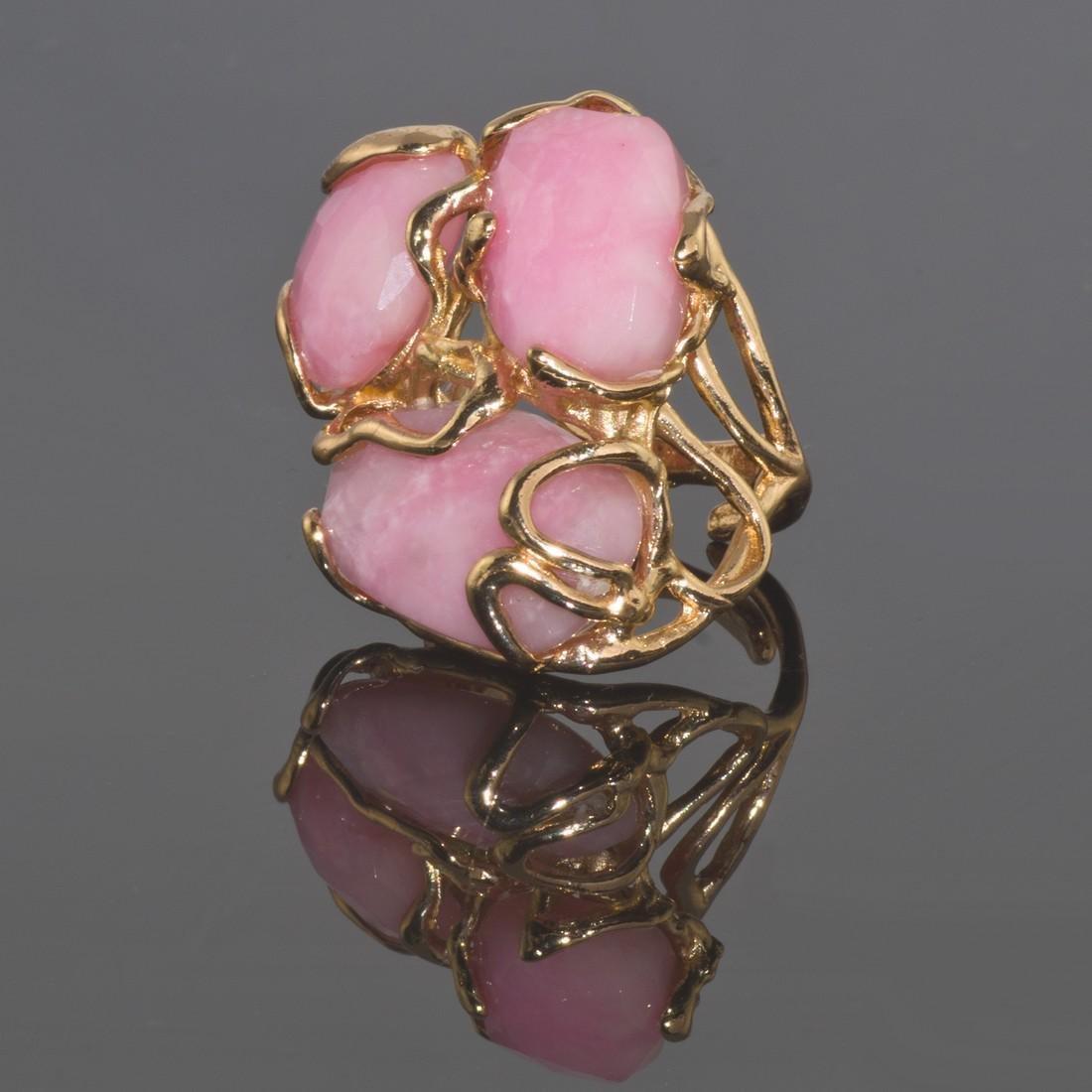 Fantasy Pink Opal Ring