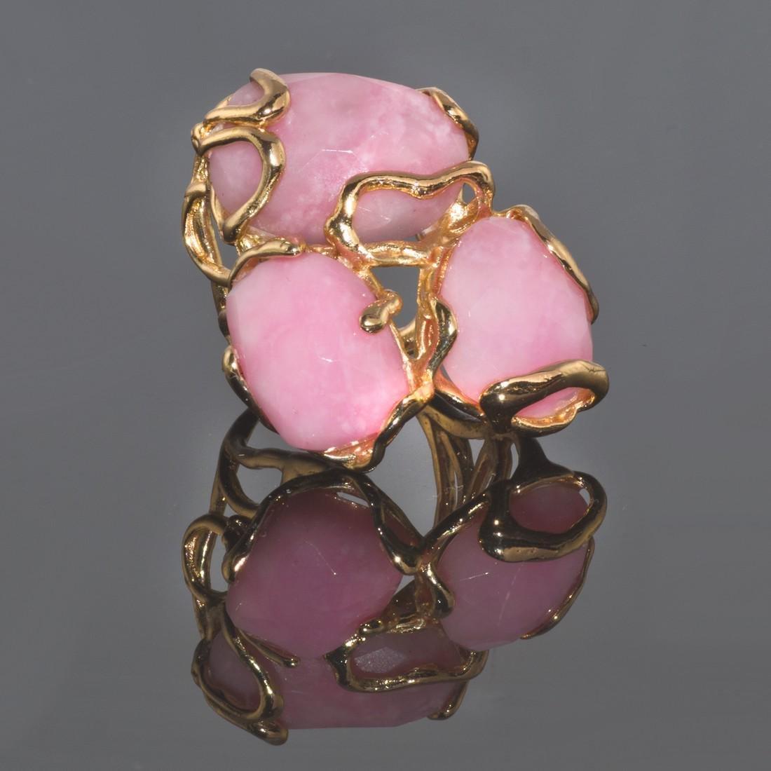 Fantasy Pink Opal Ring - 3