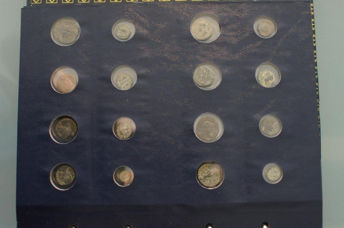 Book of 128 Roman and Greek Coins - 8