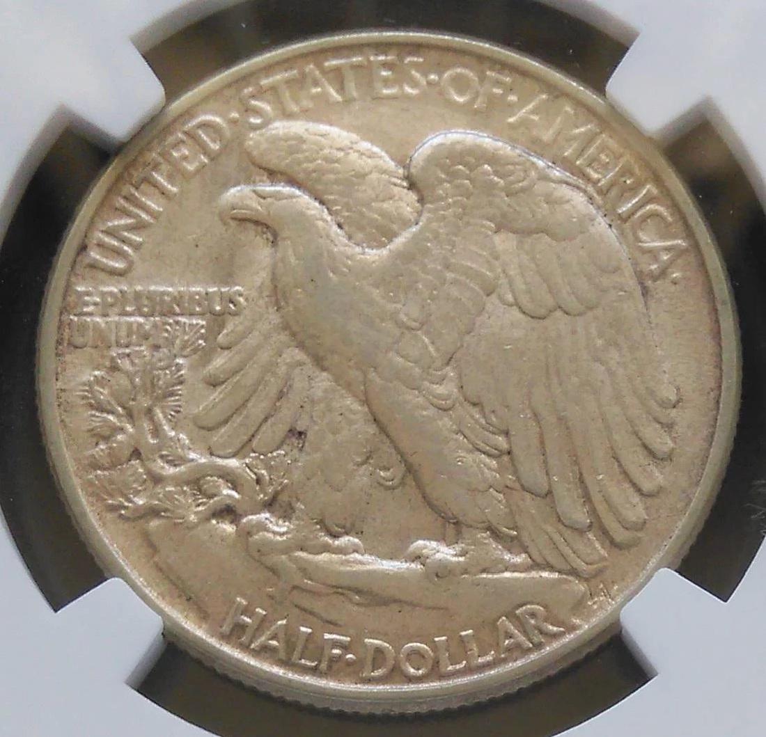 1945-P Walking Liberty Half Dollar Slabbed NGC AU53 - 3