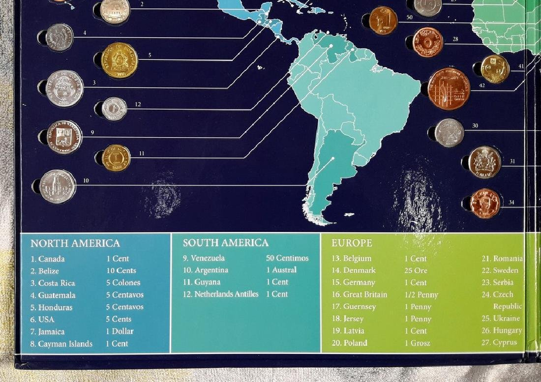 Planet of Coins - 50 Coins from 50 Countries - USA - 6