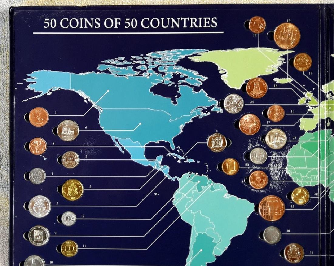 Planet of Coins - 50 Coins from 50 Countries - USA - 7