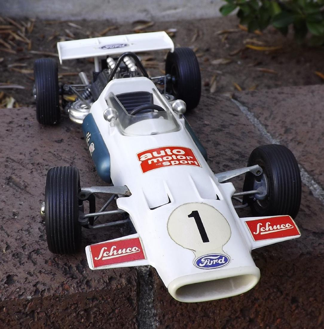 Schuco Brabham-Ford, Made in Germany in 1960s, c9,