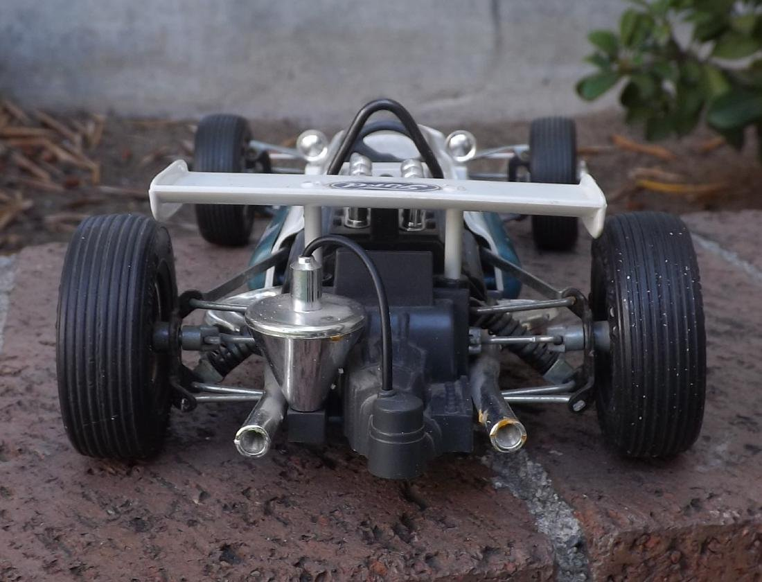 Schuco Brabham-Ford, Made in Germany in 1960s, c9, - 4