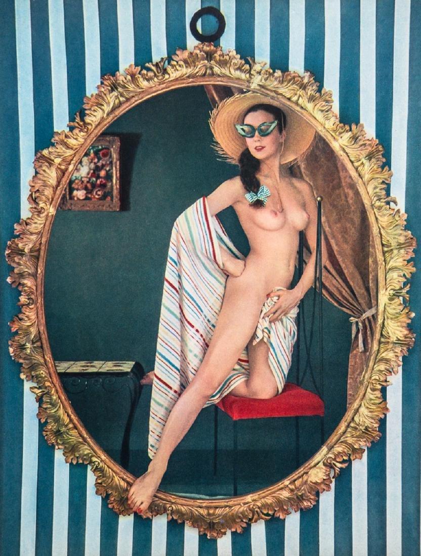 ZOLTAN GLASS - Nude in Mirror Frame