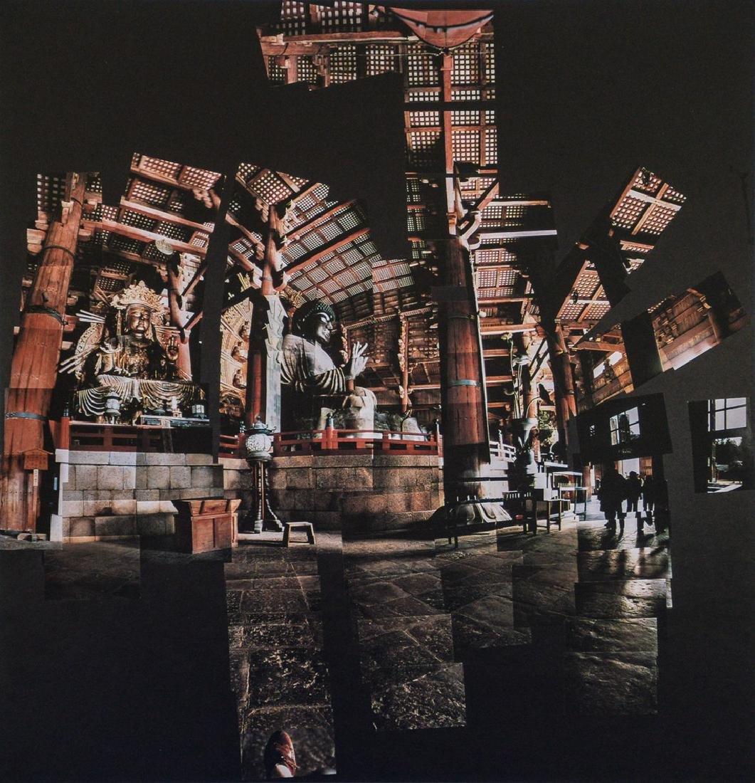 DAVID HOCKNEY - Giant Buddha, Nara, 1983
