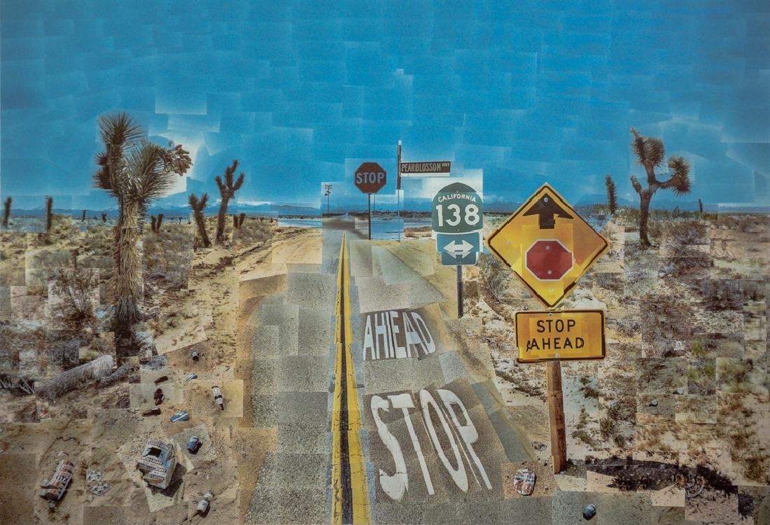 DAVID HOCKNEY - Pearblossom Hwy. 1986