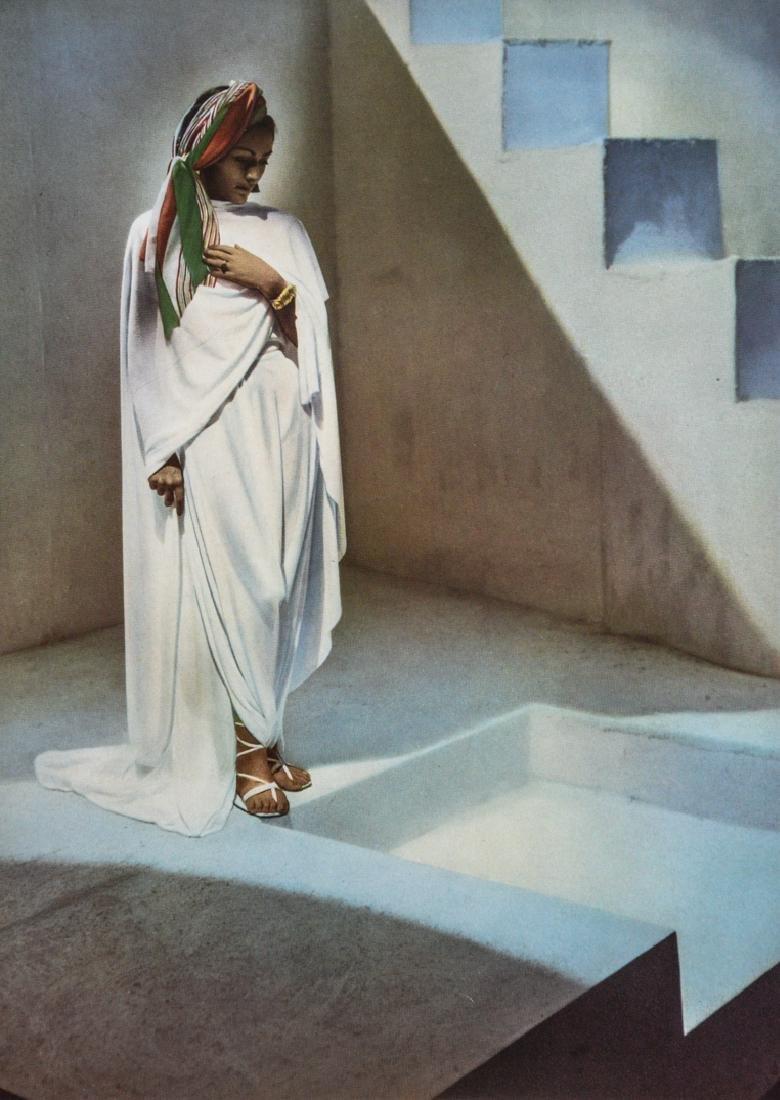 HOYNINGEN-HUENE - Woman in White
