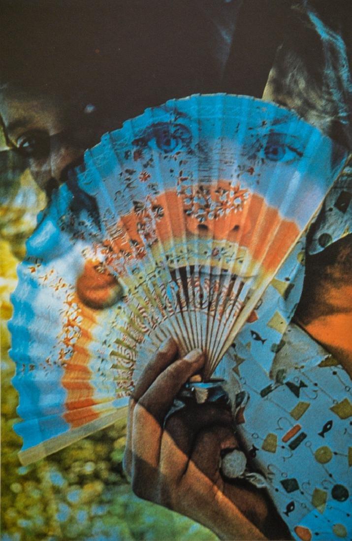 GORDON PARKS - Woman With Fan, 1958