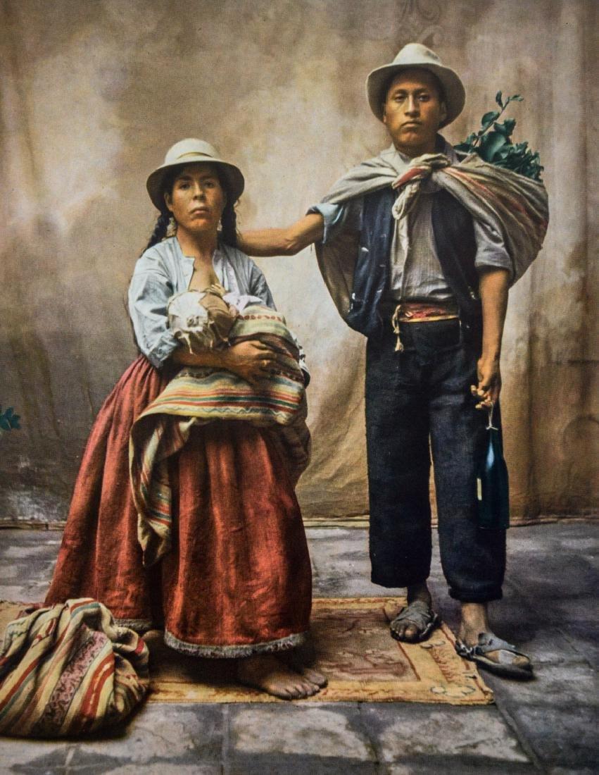 IRVING PENN - Peruvian Family