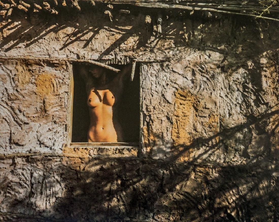 COLE WESTON - Nude in Window, Arizona, 1979