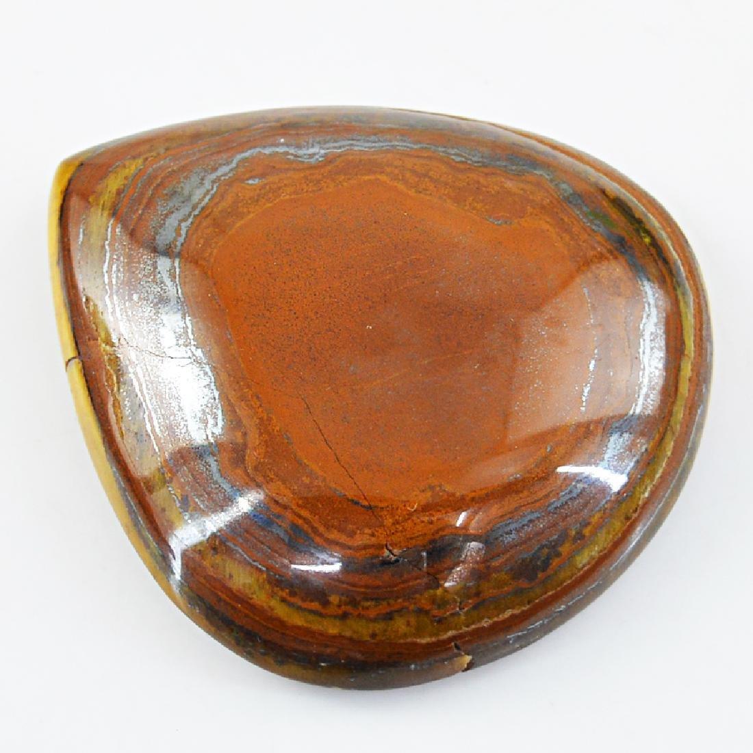 Golden Tiger Eye Pear Shape Gem - 2