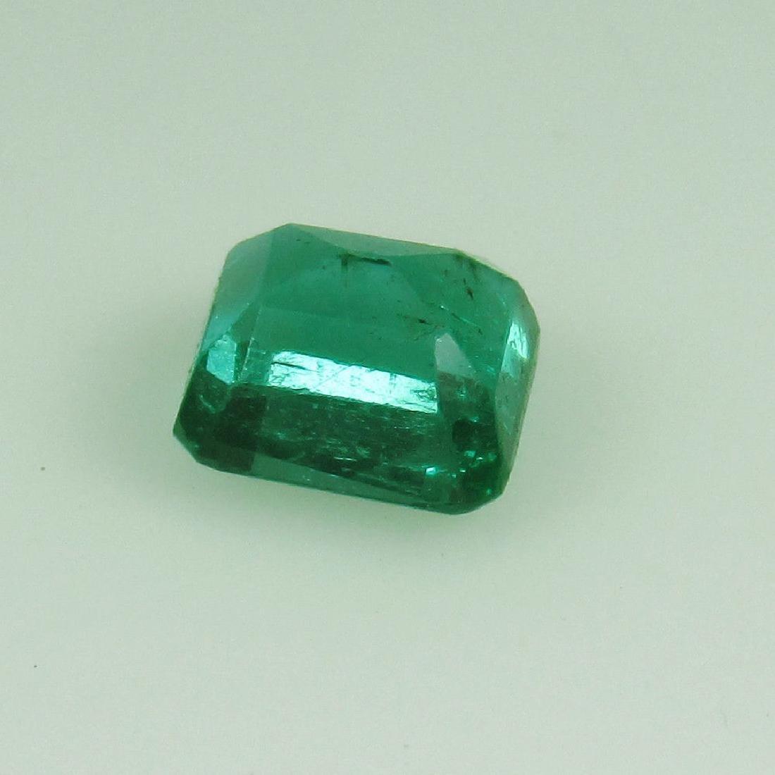 0.80 Ct Genuine Loose Emerald Octagon cut AAA Good - 2