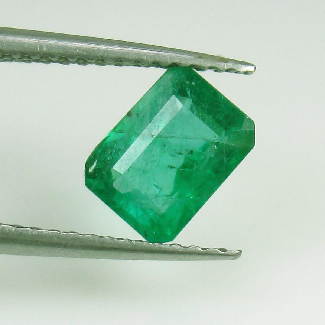 1.17 Ct Genuine Loose Emerald 7.5X5.5 mm Octagon cut
