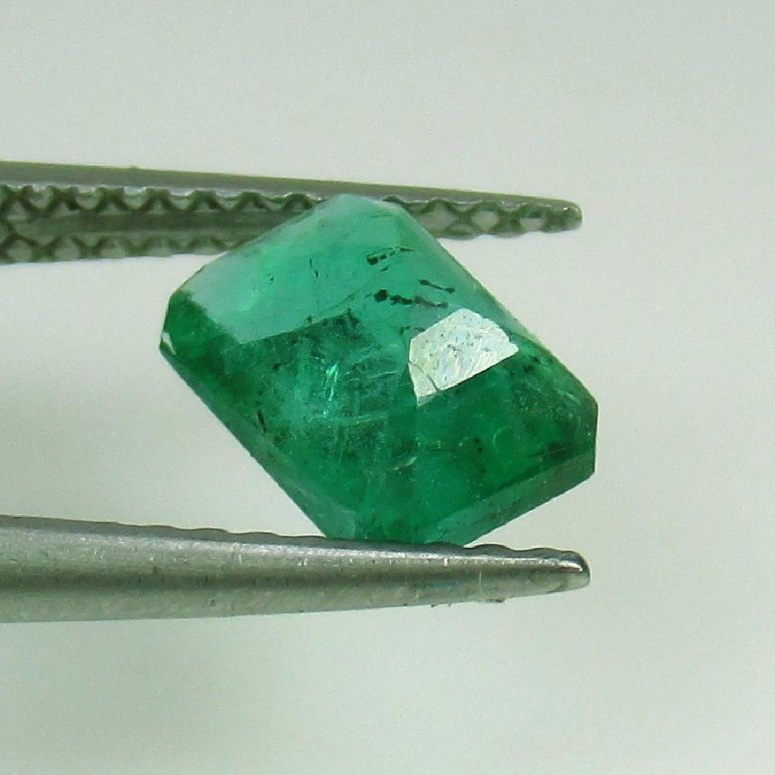 1.17 Ct Genuine Loose Emerald 7.5X5.5 mm Octagon cut - 2