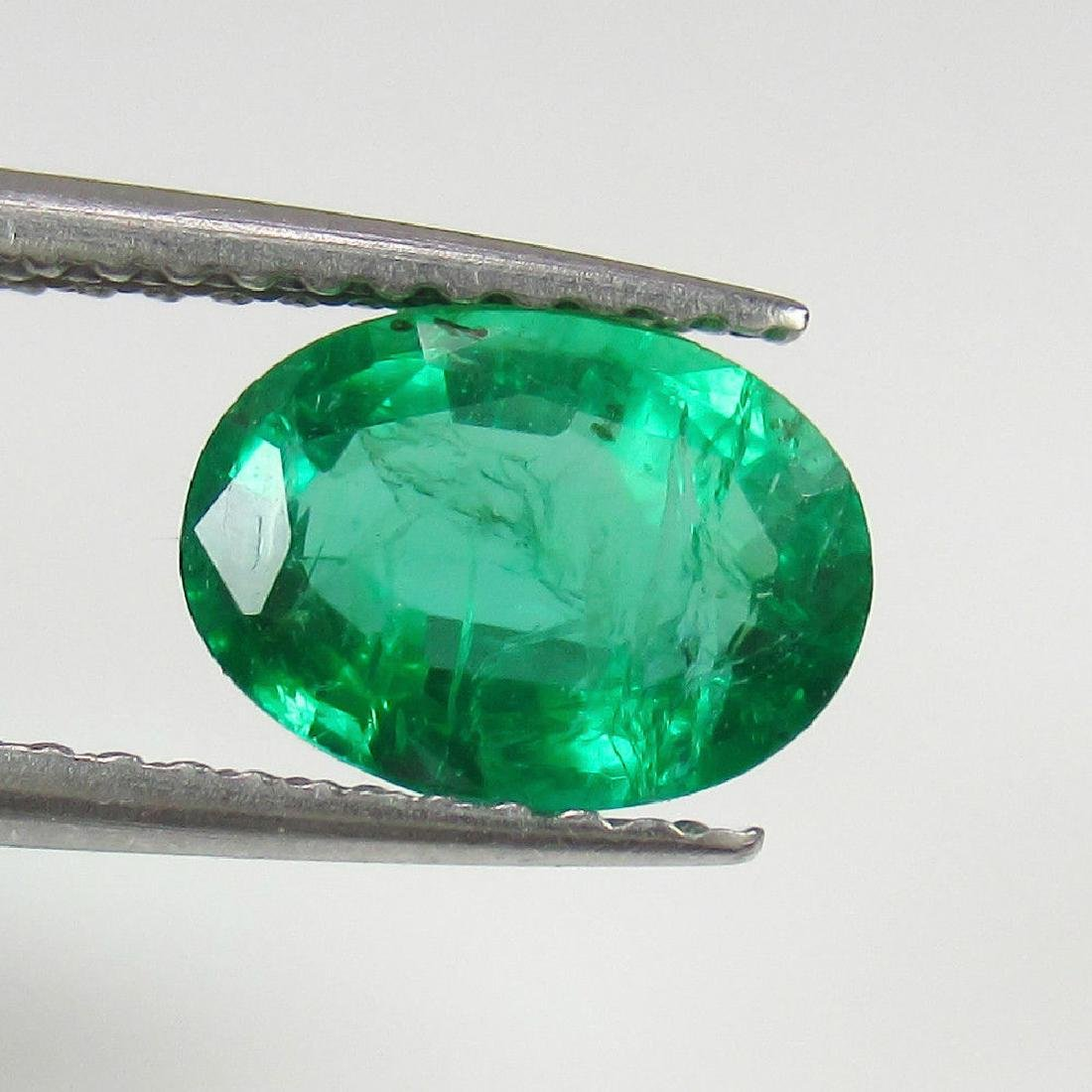 1.20 Ct Genuine Zambian Emerald Top Quality AAA++ Green