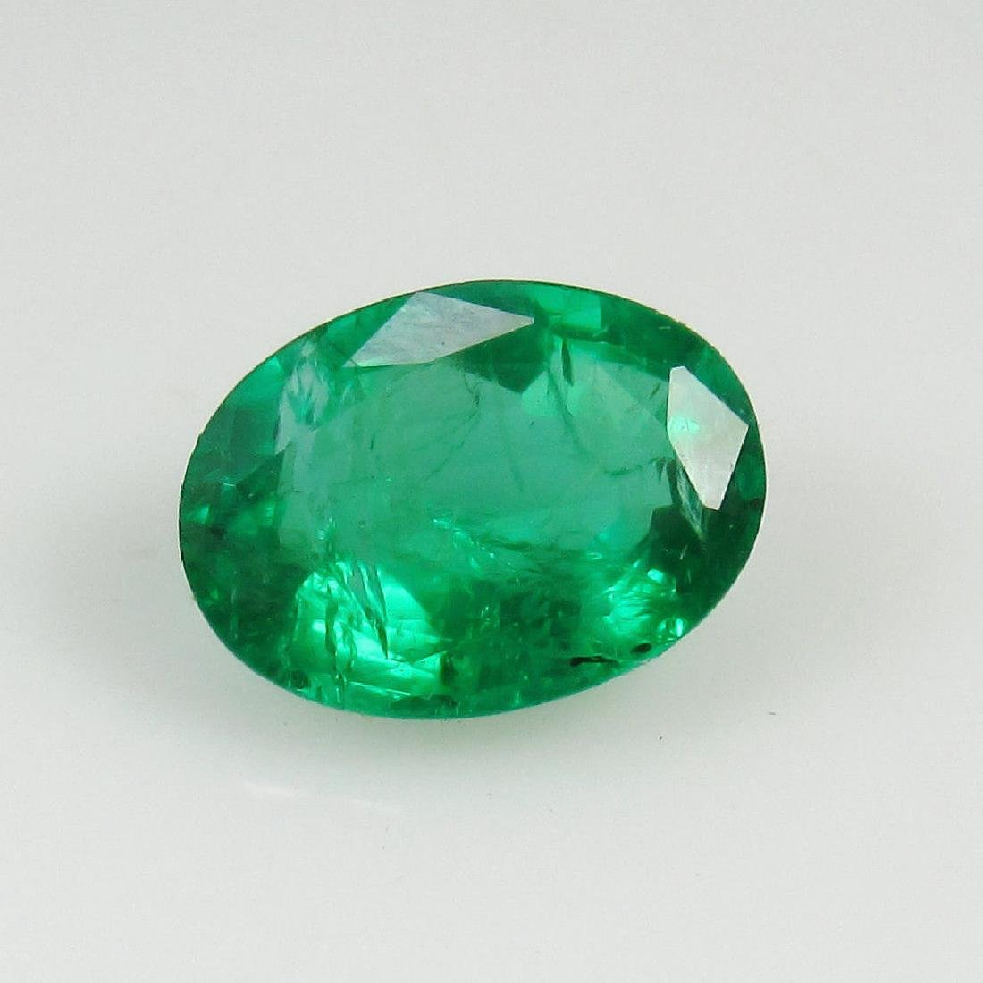1.20 Ct Genuine Zambian Emerald Top Quality AAA++ Green - 2