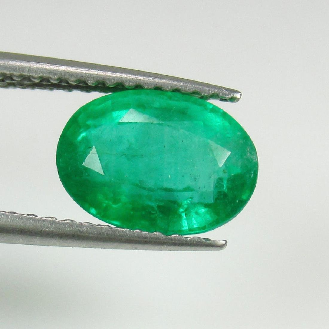 1.95 Ct Genuine Zambian Emerald Top Quality AAA++ Green - 2
