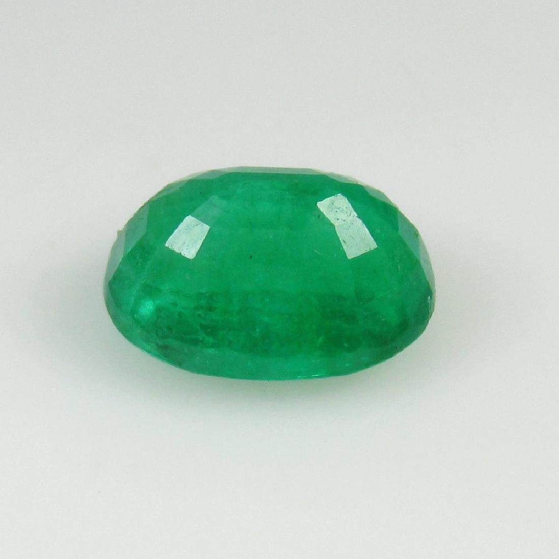 1.95 Ct Genuine Zambian Emerald Top Quality AAA++ Green - 4