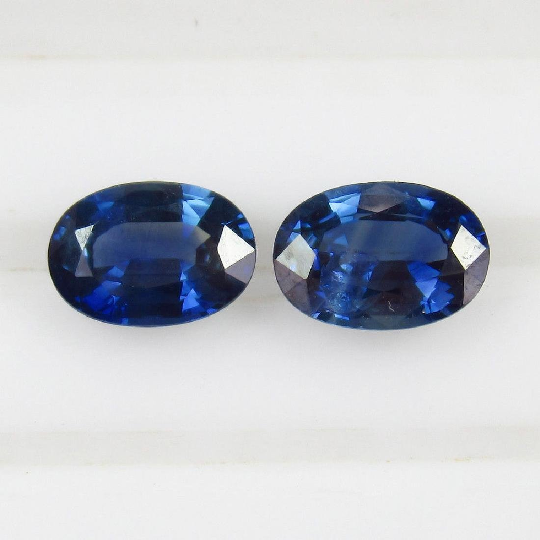 2.00 Ct Genuine Ceylon Deep Vivid Blue Sapphire