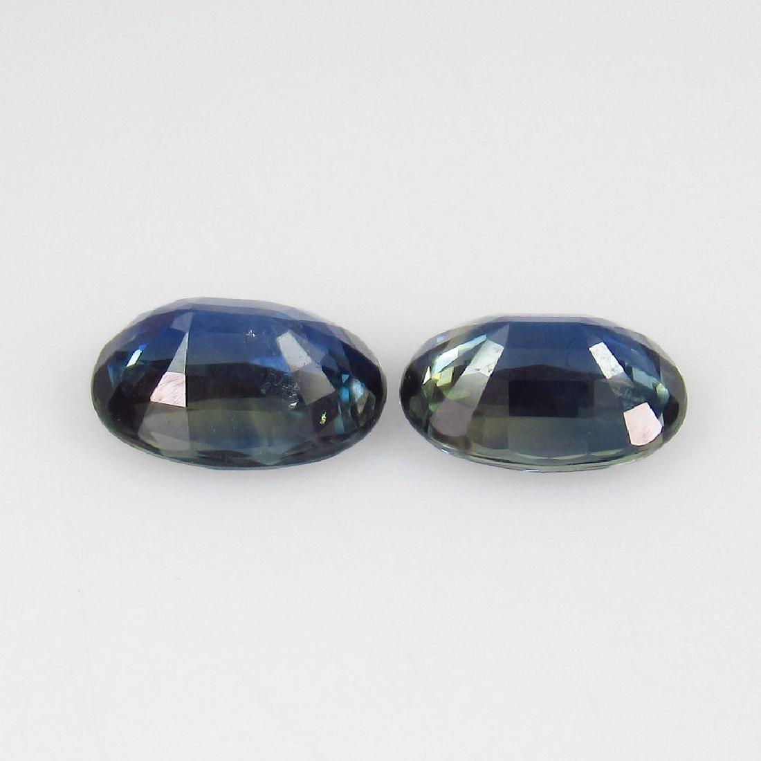 2.00 Ct Genuine Ceylon Deep Vivid Blue Sapphire - 2
