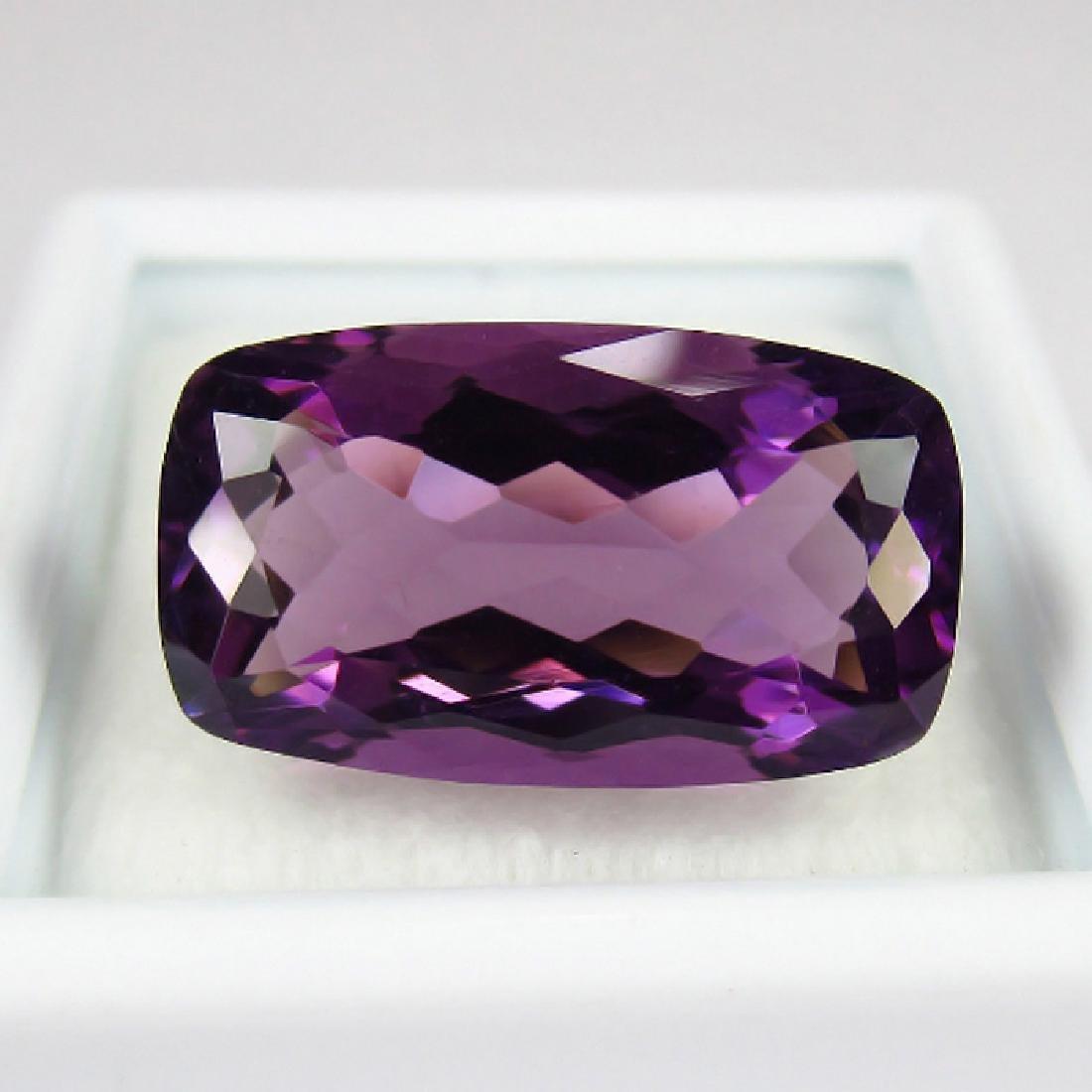 9.32 Ct Genuine Loose Amethyst Full Luster Purple