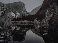ANSEL ADAMS - Mirror Lake, Yosemite