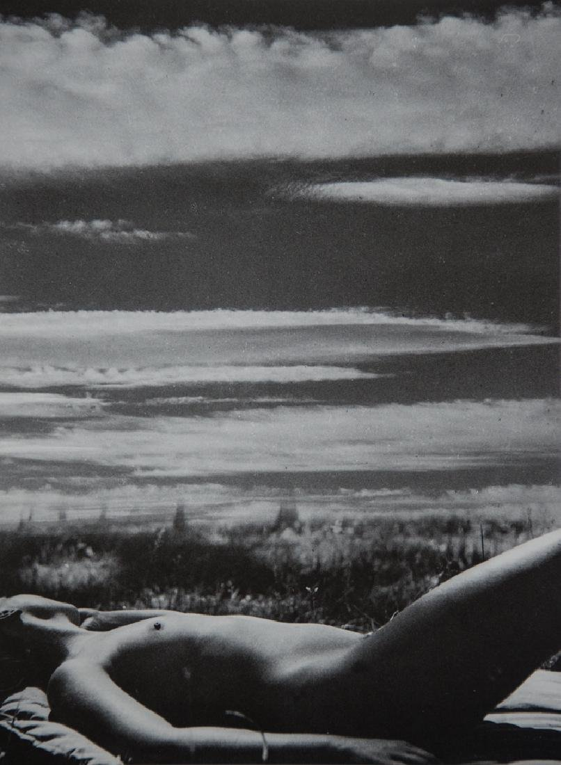 PIERRE BOUCHER - Nude and Sky