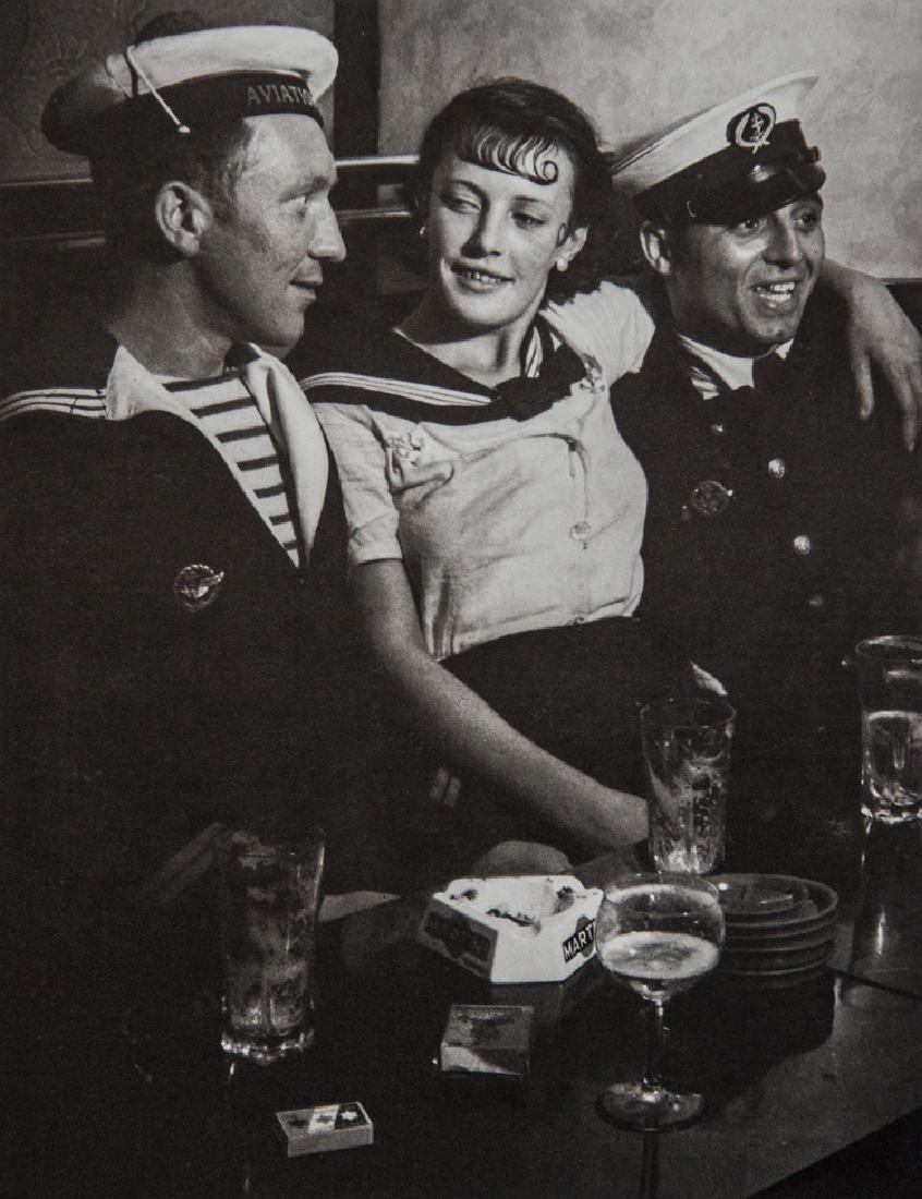BRASSAI - Conchita with Sailors